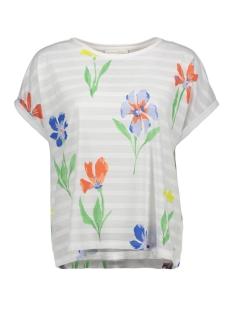 Tom Tailor T-shirt TSHIRT MET STREEP EN PRINT 1009929XX71 16972