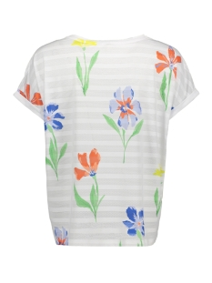 tshirt met streep en print 1009929xx71 tom tailor t-shirt 16972