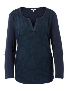 Tom Tailor T-shirt LONGSLEEVE MET BLOEMENMOTIEF 1009661XX70 10360