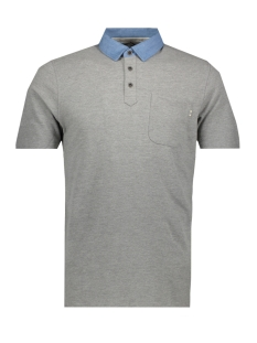 Jack & Jones Polo JPRDARREN BLU. POLO SS 12152181 Light Grey Mela/SLIM FIT