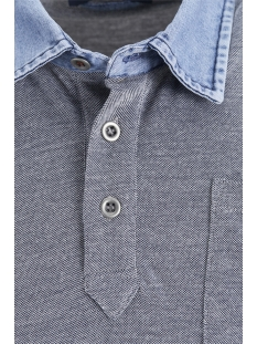 jprdarren blu. polo ss 12152181 jack & jones polo navy blazer/slim fit