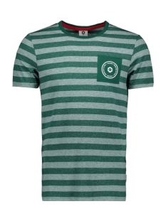 Jack & Jones T-shirt JCODENNY TEE SS CREW NECK 12148515 Evergreen/SLIM