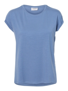 Vero Moda T-shirt VMAVA PLAIN SS 10187159 Granada Sky