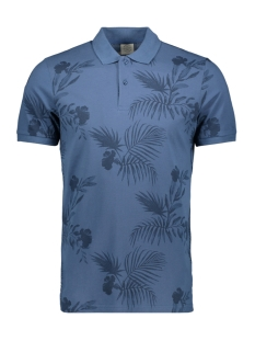 Jack & Jones Polo JORFUN POLO SS 12147405 Ensign Blue/SLIM