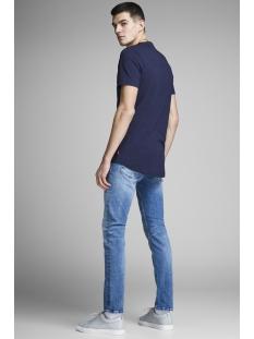 jcopainted tee ss crew neck 12151176 jack & jones t-shirt maritime blue/slim