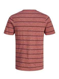jprorson blu. tee ss crew neck 12148346 jack & jones t-shirt tandori spice/slim fit