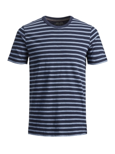 Jack & Jones T-shirt JPRORSON BLU. TEE SS CREW NECK 12148346 Navy Blazer/SLIM FIT