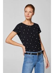 slub jersey shirt met print 039cc1k048 edc t-shirt c001