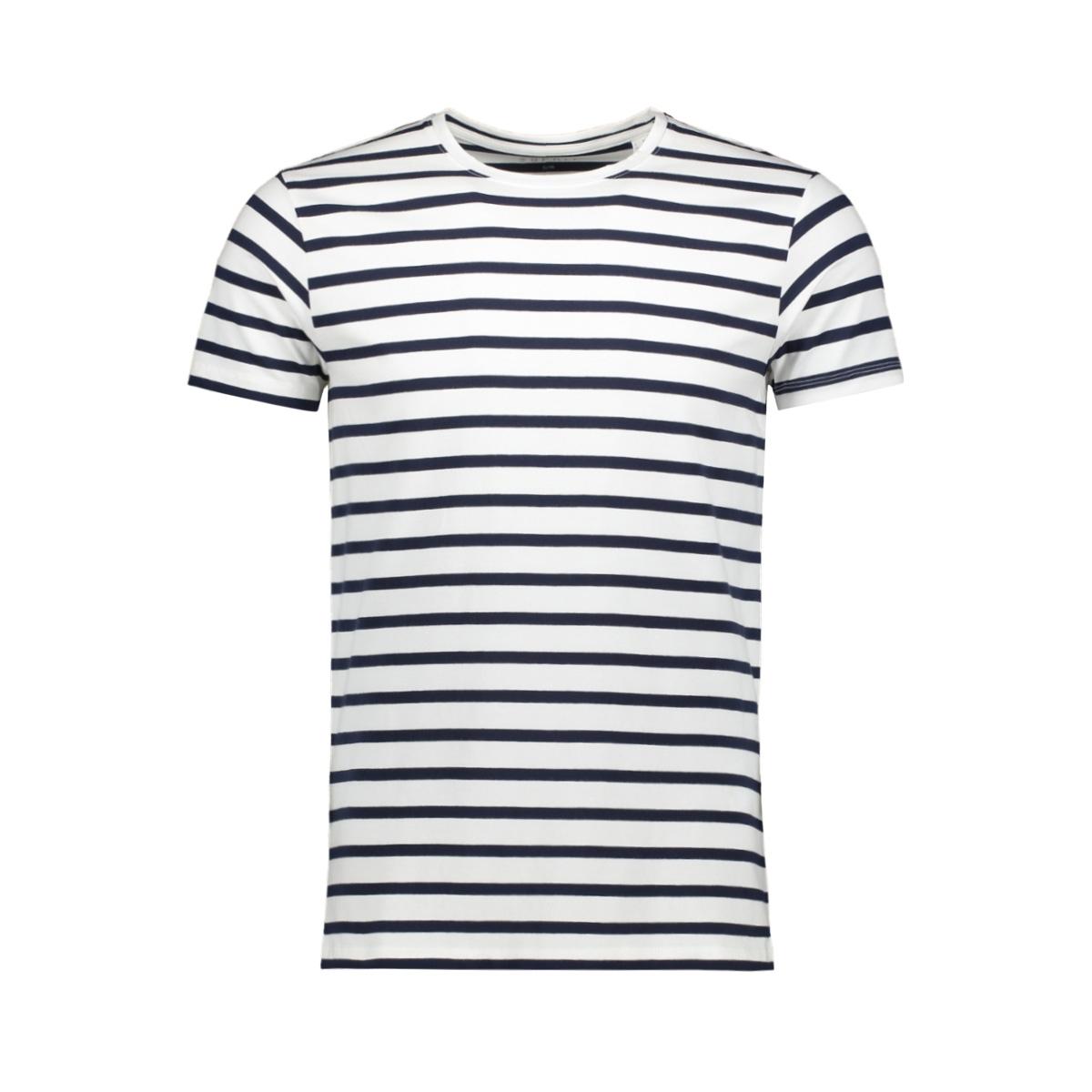 gestreept shirt 039ee2k037 esprit t-shirt e100