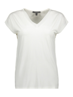 Esprit Collection T-shirt SHIRT MET CHIFFON HALS 039EO1K022 E110