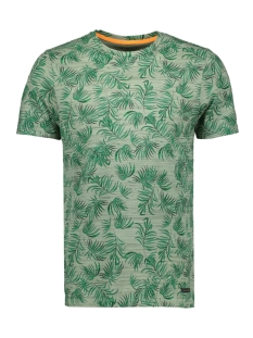Jack & Jones T-shirt JORFLORIS TEE SS CREW NECK 12155842 Green Bay/SLIM