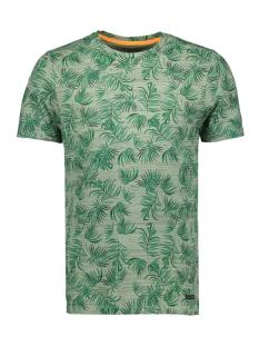 jorfloris tee ss crew neck 12155842 jack & jones t-shirt green bay/slim