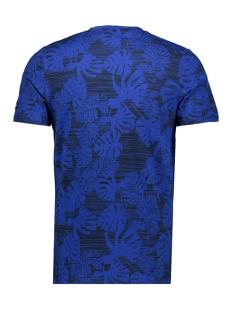 jorfloris tee ss crew neck 12155842 jack & jones t-shirt total eclipse/slim