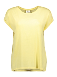 Vero Moda T-shirt VMAVA PLAIN SS TOP GA COLOR 10195724 Mellow Yellow