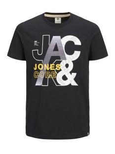 jcotilly tee ss crew neck 12148516 jack & jones t-shirt black/slim