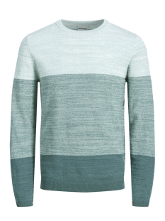 Jack & Jones Trui JCOSACRAMENTO KNIT CREW NECK 12151370 Cloud Dancer/KNIT FIT