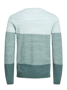 jcosacramento knit crew neck 12151370 jack & jones trui cloud dancer/knit fit