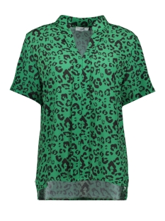 Luba Blouse PATTY TOP 8256 PRINT GREEN