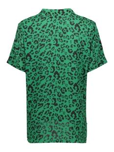 patty top 8256 luba blouse print green