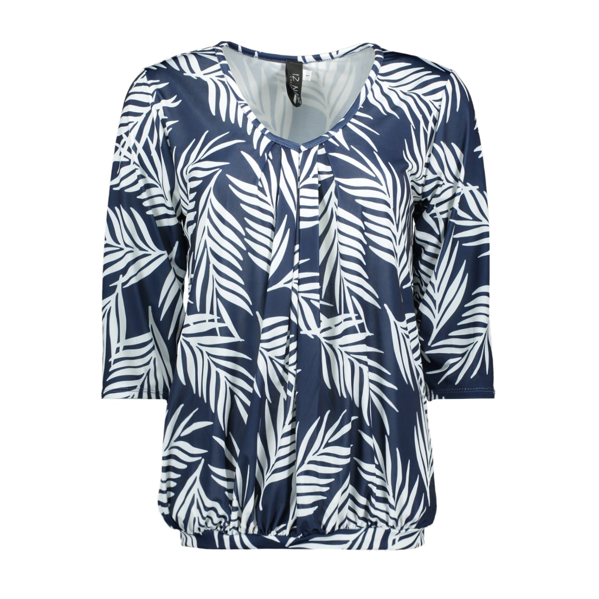 t-shirt leaf 3418 iz naiz t-shirt navy