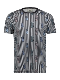 Produkt T-shirt PKTGMS MIX AOP TEE SS 12155086 Dark Navy/PINEAPPLE