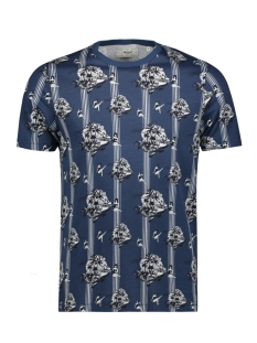 Produkt T-shirt PKTGMS MIX AOP TEE SS 175797003 Dark Denim/PARADISE