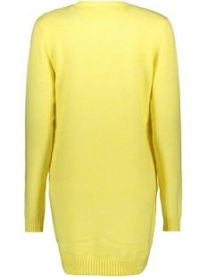 viril l/s  open knit cardigan-fav 14044095 vila vest goldfinch/melange
