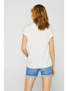 shirt met ajourborduursel 049ee1k007 esprit t-shirt e110