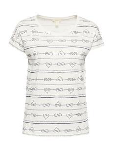 Esprit T-shirt SLUB JERSEY SHIRT 049EE1K034 E110