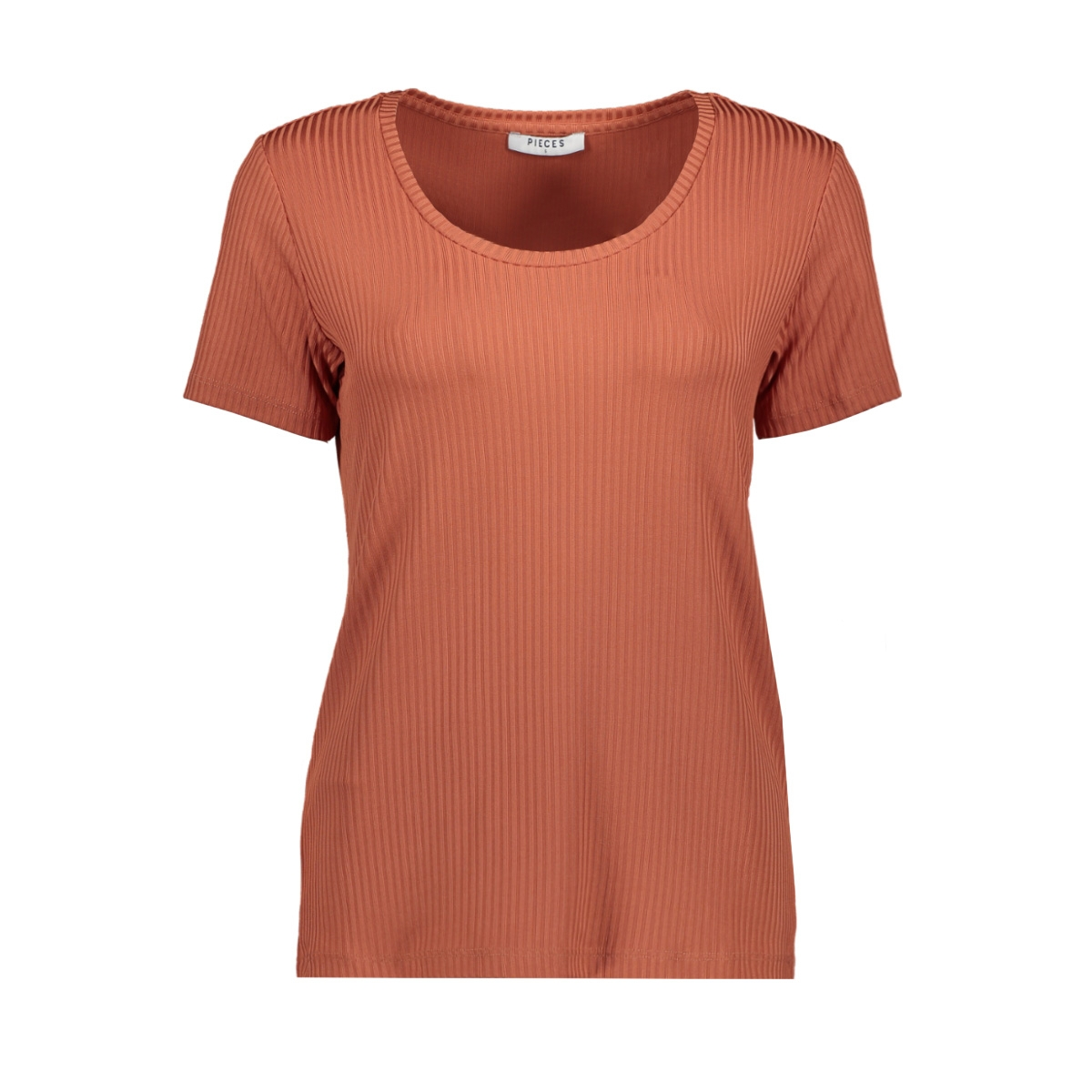 pccanno ss tee 17096341 pieces t-shirt redwood