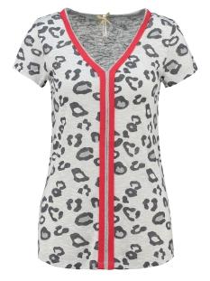 Key Largo T-shirt TILLY V-NECK T-SHIRT WT00167 SILVER