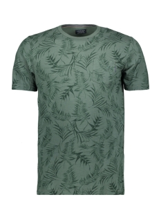 Jack & Jones T-shirt JPRSEAN. BLU. TEE SS CREW NECK 12149369 Duck Green/ Slim fit