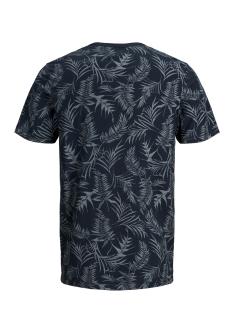 jprsean. blu. tee ss crew neck 12149369 jack & jones t-shirt navy blazer