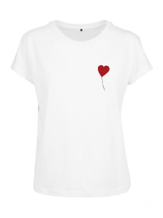 Urban Classics T-shirt BANKSY LOVE TEE MC361 WHITE