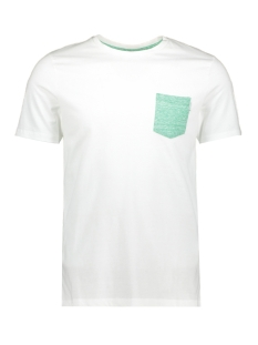 Jack & Jones T-shirt JCOBOSTON TEE SS CREW NECK 12156938 White/SLIM