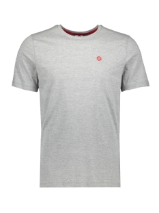Jack & Jones T-shirt JCOBOSTON TEE SS CREW NECK 12156938 Grey Melange/SLIM