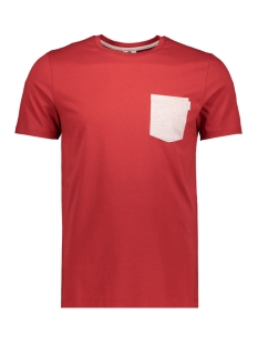 Jack & Jones T-shirt JCOBOSTON TEE SS CREW NECK 12156938 Tango Red/SLIM