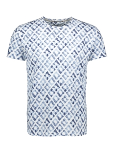 NO-EXCESS T-shirt ALL OVER PRINTED T SHIRT 90350316 010 WHITE