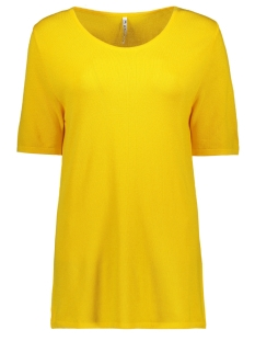 Zoso T-shirt KNITTED TOP KN1911 YELLOW
