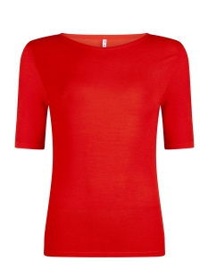 knitted top kn1911 zoso t-shirt orange red