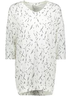 Zoso T-shirt SHIRT WITH PRINT AY1909 OFF WHITE/NAVY