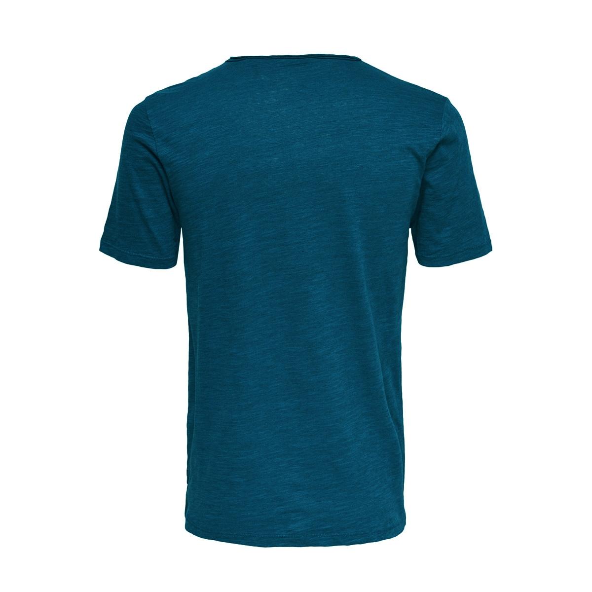 onsalbert new ss tee noos 22005108 only & sons t-shirt majolica blue