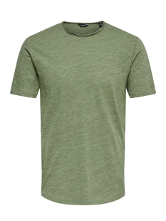 Only & Sons T-shirt ONSALBERT NEW SS TEE NOOS 22005108 Grayed Jade
