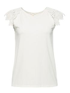 Esprit T-shirt SHIRT MET KANT 049EE1K027 E110
