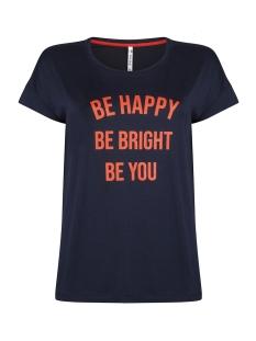 Zoso T-shirt T-SHIRT WITH PRINT AY1907 NAVY/ORANGE RED
