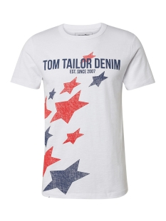 Tom Tailor T-shirt TSHIRT MET PRINT 1010848XX12 20000