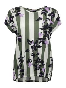 Vero Moda T-shirt VMCAYA S/S WIDE TOP BOX JRS 10215245 Laurel Wreath/VILJA PRIN