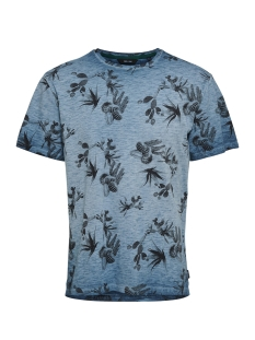 onslance ss reg aop washed tee 22012624 only & sons t-shirt majolica blue