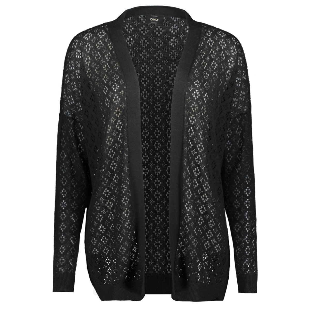 onlkylie l/s cardigan knt 15177603 only vest black