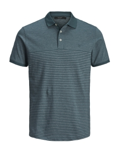Jack & Jones Polo JPRCLEIN BLA SS POLO 12149861 Stargazer/MELANGE